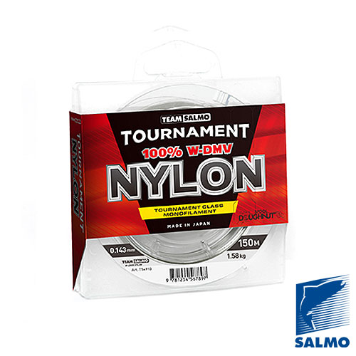Леска моно. Team Salmo TOURNAMENT NYLON 150/018